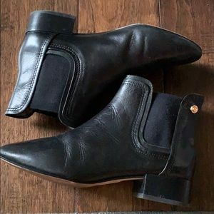 Louise et Cie Black leather boots